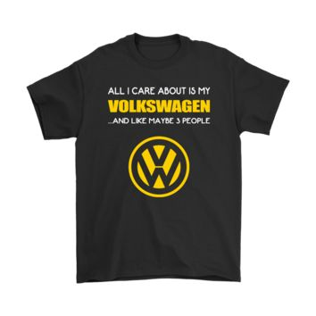 KUYOU All I Care About Is My Volkswagen And About 3 People Shirts