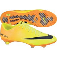 Nike Men's Mercurial Vapor IX FG Soccer Cleat - Yellow/Orange | DICK'S Sporting Goods