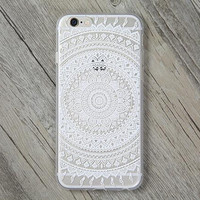 Vintager Lace Flower Cover Case for iPhone 5s 5se 6 6s Plus Gift + Gift Box