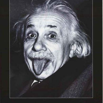 Albert Einstein Anti-War Quote Poster 24x36