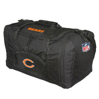 Chicago Bears NFL Roadblock Duffle Bag (Black)