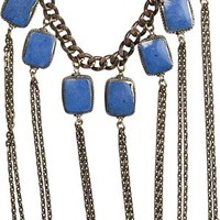 VANESSA MOONEY CRAZY LOVE STATEMENT NECKLACE