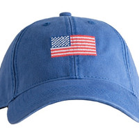 H-L American Flag© on Bright Navy | Harding-Lane