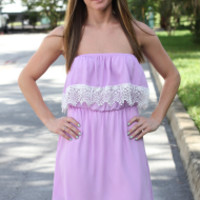 All About You Dress - Lavender