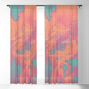Alpha Sheer Curtain by duckyb