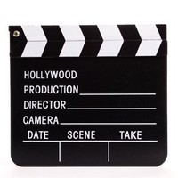 "8"" Wooden Hollywood Director Clapboards"