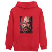 Breaking Bad I Am The One Who Knocks Hoodie