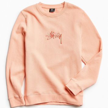 Stussy New Stock Crew Neck Sweatshirt | Urban Outfitters