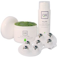Skin QR Organics Phat QR Solutions Anti Cellulite Collection. Set of 3 products to combat appearance of cellulite and promote smooth silky skin.