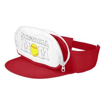 Softball Mom Visor Hat
