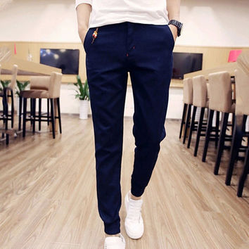 Men Street Fashion Casual Pants