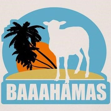 Baaahamas Organic Men's Fitted T-Shirt
