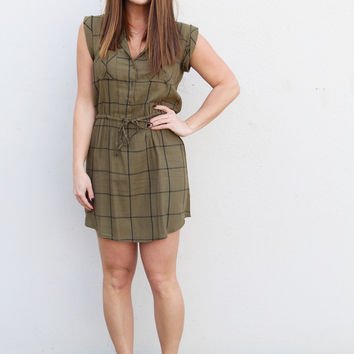 Uncharted Cargo Dress {Fern}