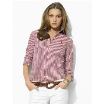 Beauty Ticks Ralph Lauren Polo Women Long Sleeve Shirts Rlwls032