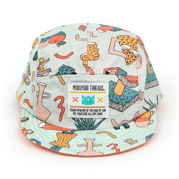 Tea Party 5 Panel Walter Hat