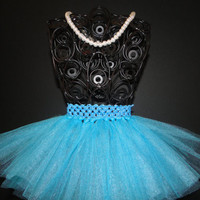 Teal TuTu - Baby Tutu - Infant Tutu - Newborn Tutu - Tutu - Tulle Tutu - Baby Girl Tutu - baby wedding outfit - baby photo prop