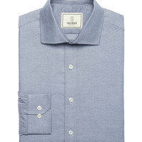 Fulton Chambray Dress Shirt in Denim