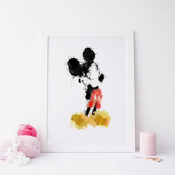 Printable art MICKEY  MOUSE abstract art,prints and quotes,prints,mickey mouse art,printable art,mickey mouse art,mickey mouse poster,art