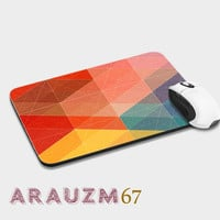 Blue Geometric, shadow geometric and uniq design mousepads