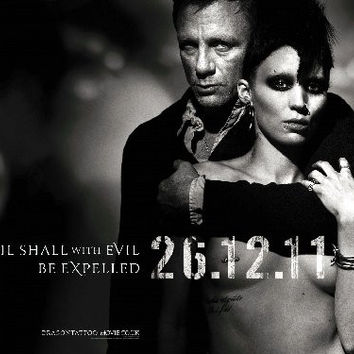 Girl With The Dragon Tattoo Mini Movie Poster 11X17