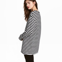 Oversized Jersey Top - from H&M