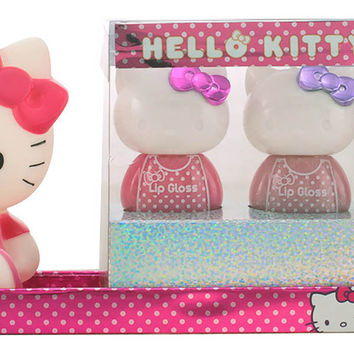 Hello Kitty - BEAUTY CUTIE LIP STATION CASE 4 pz