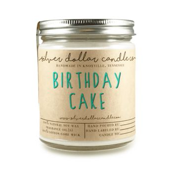 Birthday Cake - 8oz Soy Candle