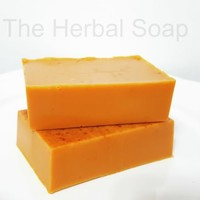 Handmade Glycerin Soap/Turmeric by The Herbal Soap