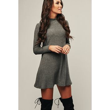 Stay Spicy Dress (Charcoal)