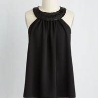 Mid-length Sleeveless Bring on the Bubbly Top