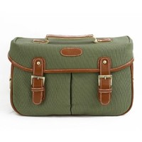 Zlyc Waterproof Canvas Vintage Style Camera DSLR Shoulder Messenger Bag