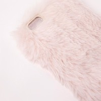 Missguided - Fluffy iPhone 5 Case Pink