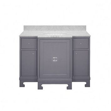 Worlds Away Alice Lacquer Bath Vanity Grey or White