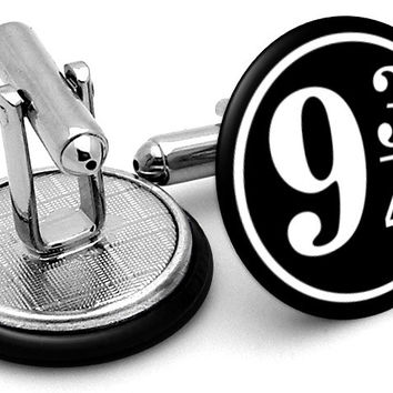 Harry Potter 9.75 Cufflinks