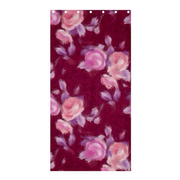 "Vintage Roses Shower Curtain 36"" x 72"" (Stall)"