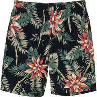 Huf Vintage Tropicana Easy Short - Men's Black,