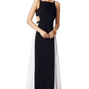 BCBGMAXAZRIA Square Space Gown