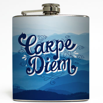 Carpe Diem Mountains - Camping Flask