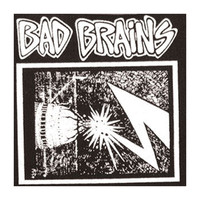 Bad Brains Men's Cloth Patch Black