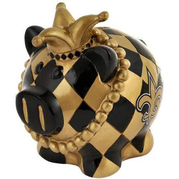New Orleans Saints NFL Team Thematic Piggy Bank (Small)