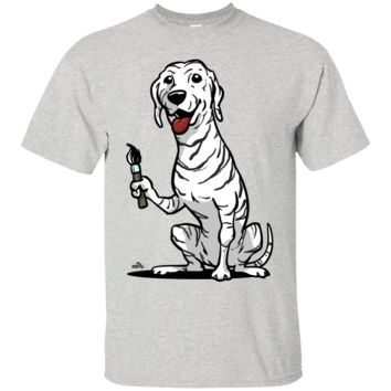 funny dalmatian cartoon dog T-Shirt