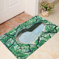 40x60cm 3D Natural Views Room Door Mat Kicthen Bathroom Non-slip Rug Floor Carpet