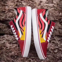 Vans Classics Old Skool Red The flame Sneaker