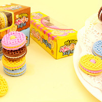 Buy Set of 5 Kawaii Cream Biscuit Erasers at Tofu Cute