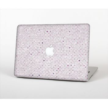 The Small Pink Polkadotted Surface Skin Set for the Apple MacBook Air 13""