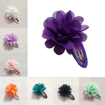 LNRRABC Sale 2 Pcs Kids Girls Fashion Hot Flower Pumpkin Hair Clip Hairpins Toddler Headwear Hair Accessories Gift