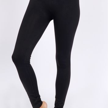 Lean With It Ankle Leggings Black