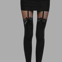 Sofia Tights (3D Ribbon Design)