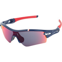 Oakley Team USA Radar Path Sunglasses Dark Blue/Positive Red Iridium, One