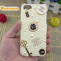 Channel iPhone 4 case,Chanel iPhone 5 case,Chanel Iphone 4s case,Unique iPhone 4 case,pearl iPhone 4 case,crystal iphone case